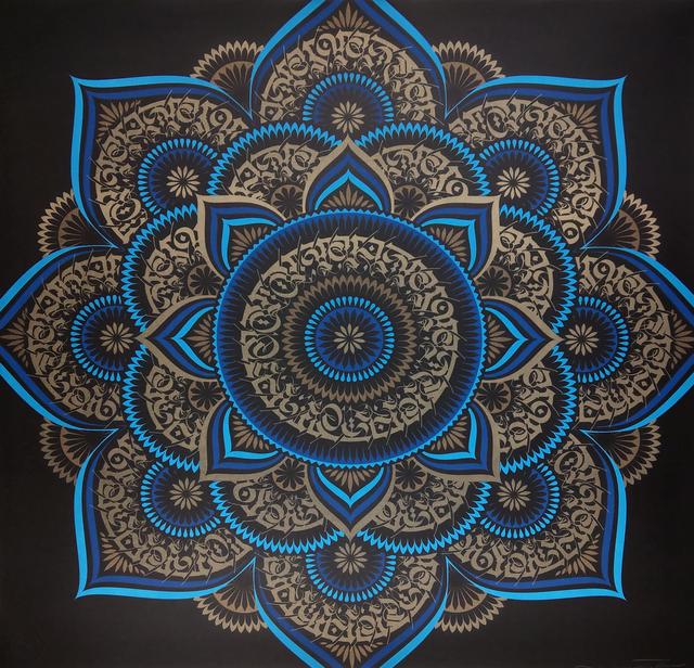 Cryptik, 'Blue Lotus', 2018, New Union Gallery