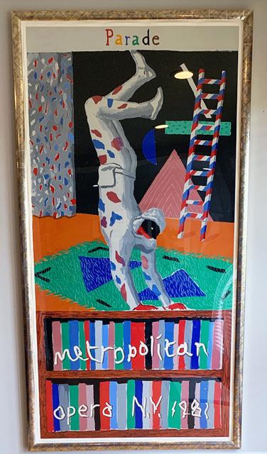 David Hockney, 'Parade, Metropolitan Opera, New York, David Hockney, 1981', 1981, David Lawrence Gallery