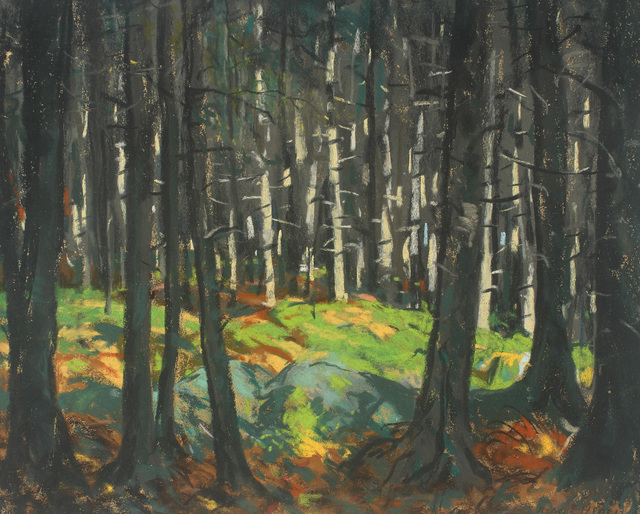 , 'Sunlight in the Woods,' 1918, Alexandre Gallery