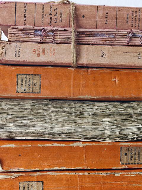 , 'Orange Bound Books,' 2014, Benrubi Gallery