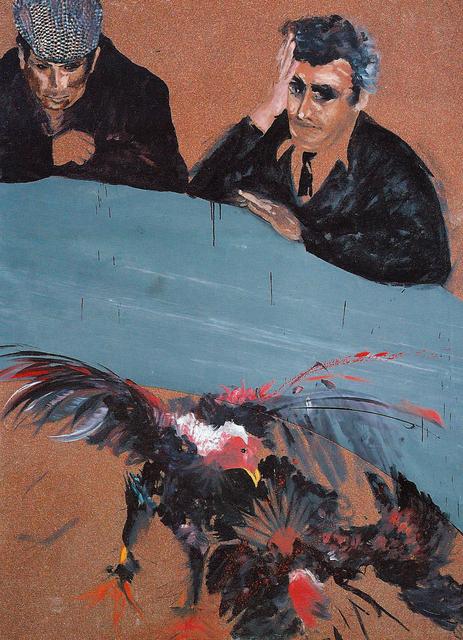 , 'Combattimento di Galli,' 1991, Rossi & Rossi