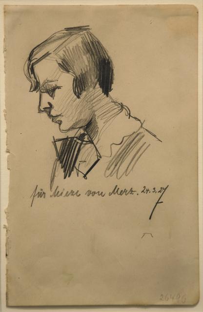 , 'Für Mieze von Merz,' 27, Galerie Schwarzer
