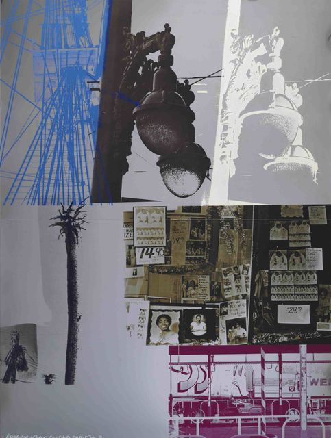 Robert Rauschenberg, 'Narcissus/ROCI USA (Wax Fire Works)', 1980, Mixed Media, Acrylic, enamel, fire wax on stainless steel, Evelyn Aimis Fine Art