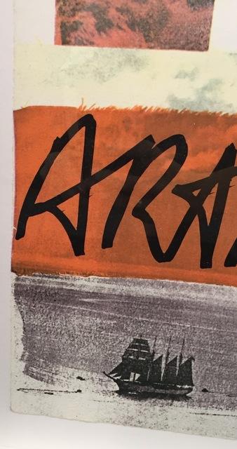 Robert Rauschenberg, 'Artist's Rights Today', 1981, Print, Embossed Lithograph, Gregg Shienbaum Fine Art