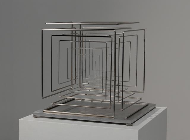 , 'Konischer Stab, zum Kubus gekantet,' 2015, Hollis Taggart Galleries