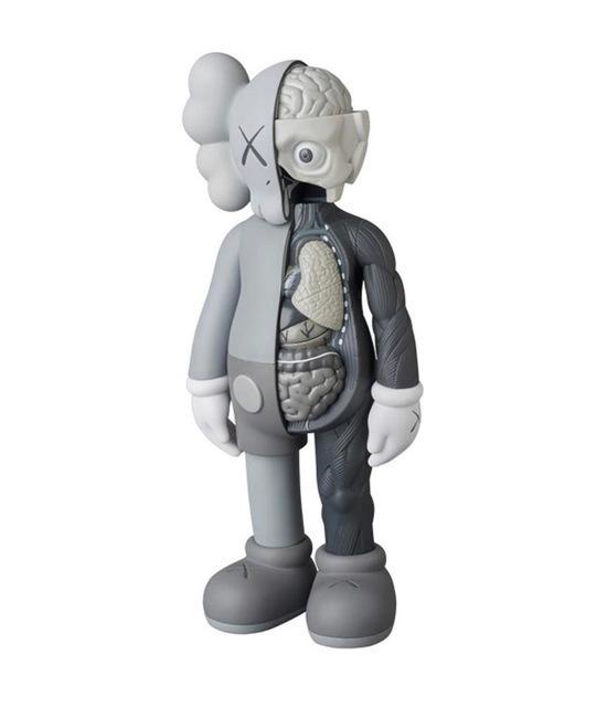 KAWS, 'Companion Flayed (Grey)', 2016, Sculpture, Vinyl, Side X Side Gallery
