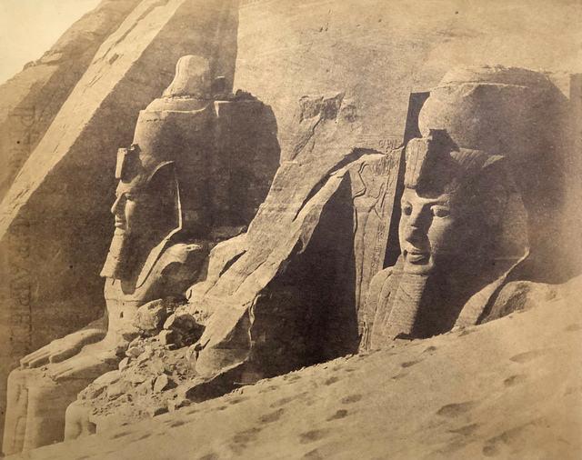 , 'Temple of Abou Simbel, Egypt.,' 1857, Roland Belgrave Vintage Photography Ltd
