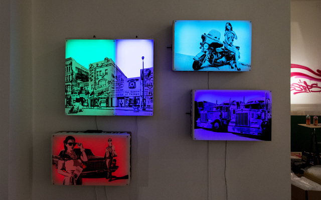 , 'Light Drawer installation,' 2017, 2CforArt