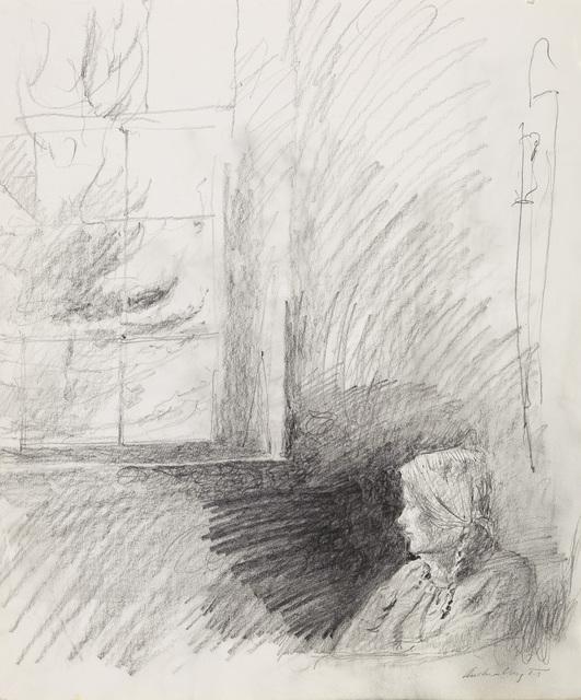 Andrew Wyeth, 'Housebound Study (Helga)', 1986, Adelson Galleries