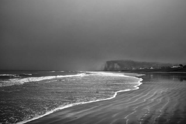 , 'Plage de Pourville sur Mer,' 2017, galerie bruno massa