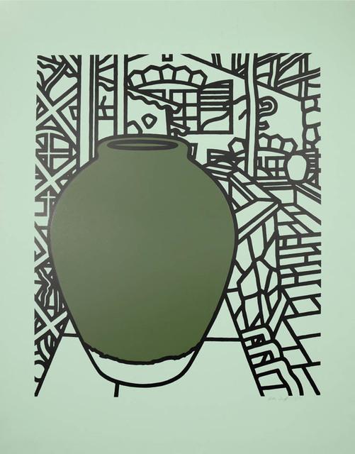 Patrick Caulfield, 'Patrick Caulfield, Jar (Green), screenprint, 1974', 1974, Print, Screenprint, Shapero Modern