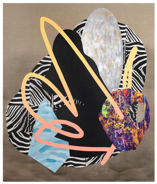 , 'Composition #21,' 2015, Nellie Castan Projects