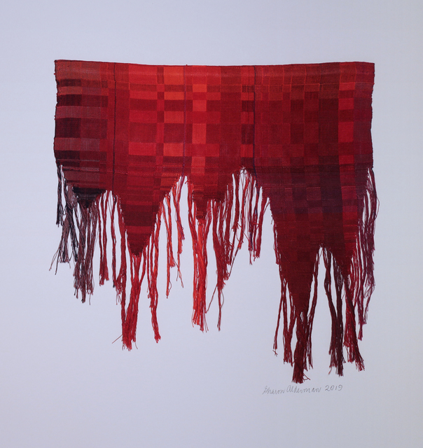 Sharon Alderman, 'Tattered Red', 2019, Phillips Gallery