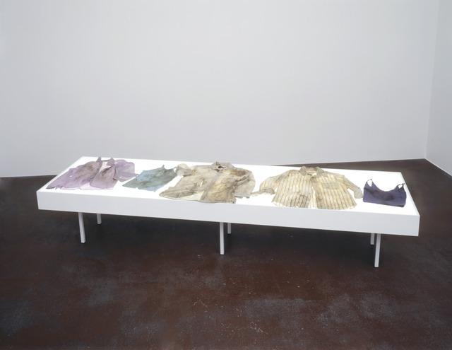 , 'Estudio de la ropa de cadaver / Study of corpse's clothes, © SEMEFO,' 1997, Galerie Peter Kilchmann