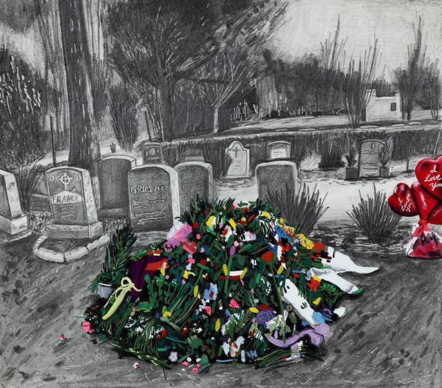 , 'Whitney's Grave,' 2015, Joshua Liner Gallery