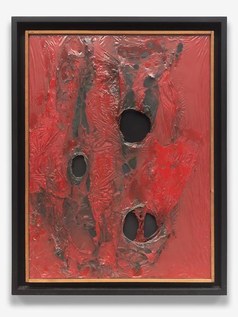 , 'Rosso Plastica,' 1962, Nahmad Contemporary