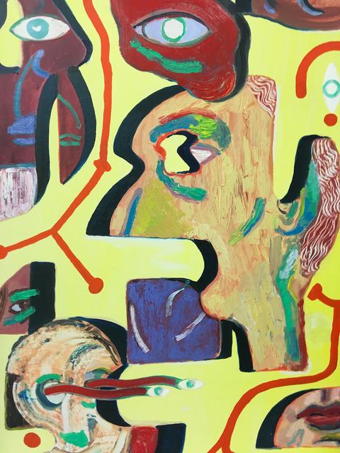 , 'Communication,' 2016, Evelyn Yard