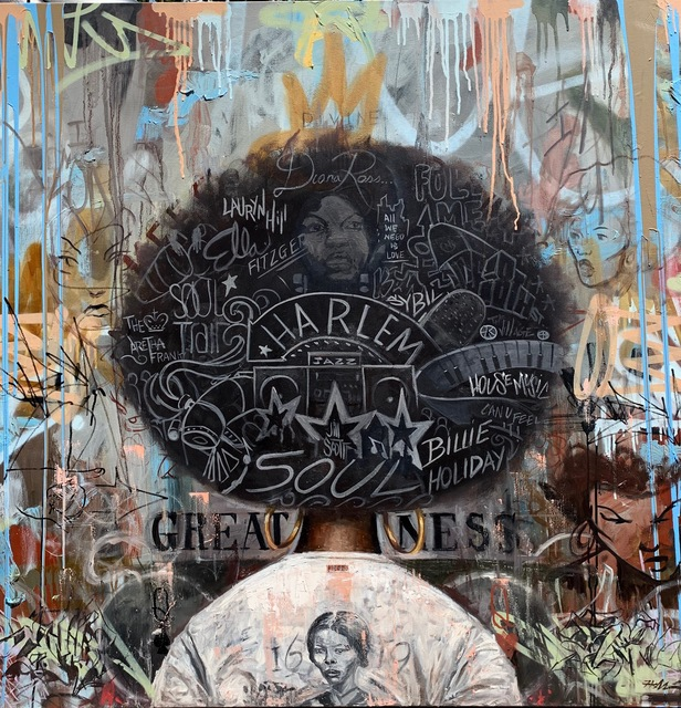 Frank Morrison, 'Divine Greatness ', 2019, Richard Beavers Gallery