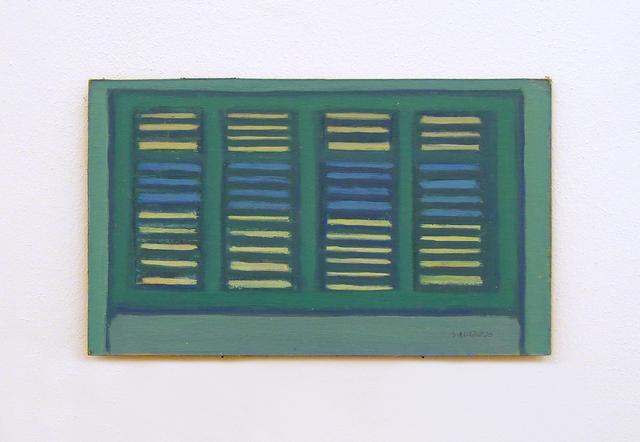 , 'Finestre Verdi,' 1980-1981, SpazioA