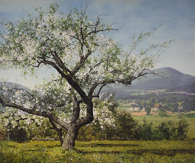 , 'Apple Blossoms,' , Questroyal Fine Art
