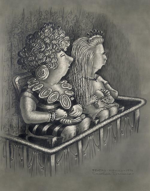 , 'Teatro-Mexico-1971,' 1971, Stone + Press Gallery