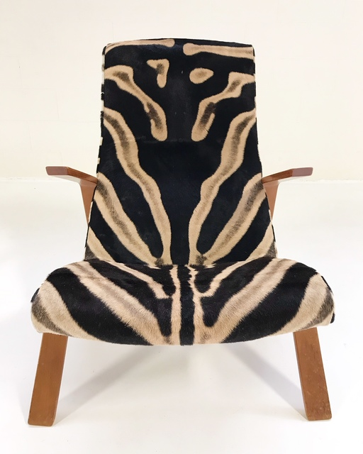 Tremendous Eero Saarinen Eero Saarinen For Knoll Grasshopper Chair And Ottoman Restored In Zebra Hide Ca 1950 Available For Sale Artsy Alphanode Cool Chair Designs And Ideas Alphanodeonline