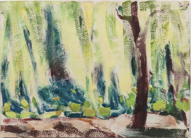 , 'Back Lighted Tree and the Lotus Pond,' 1975, Boers-Li Gallery