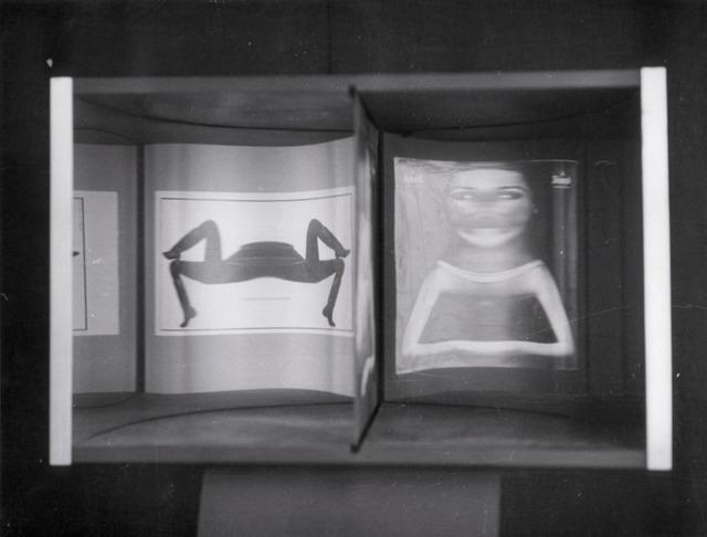 , 'Image virtuelle par deplacement de l' spectateur,' 1964, Del Infinito