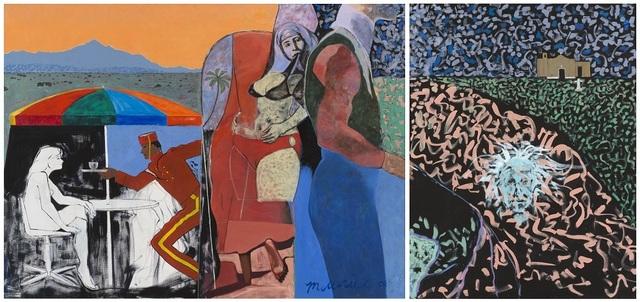 Maurice Burns, 'Galisteo Fantasy (diptych)', 1989-1993, Gerald Peters Gallery