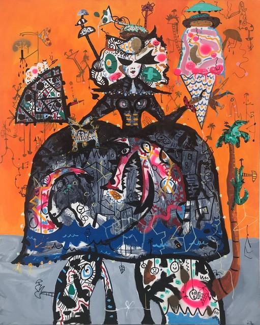 , 'Menina Pop ,' 2017, Biaggi & Faure Fine Art