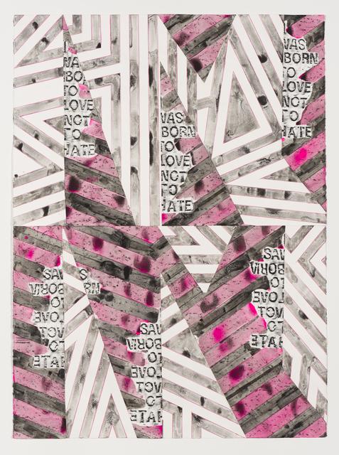 Alexandra Grant, 'Antigone 3000 (I was born to love), 3', 2014, Lowell Ryan Projects