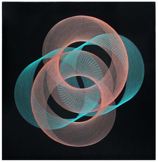 , 'Pintura Generativa - 4 Encuentros,' 1964, Museo de Arte Contemporáneo de Buenos Aires