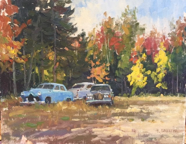 , 'Autumn Old Cars,' 2016, Grenning Gallery