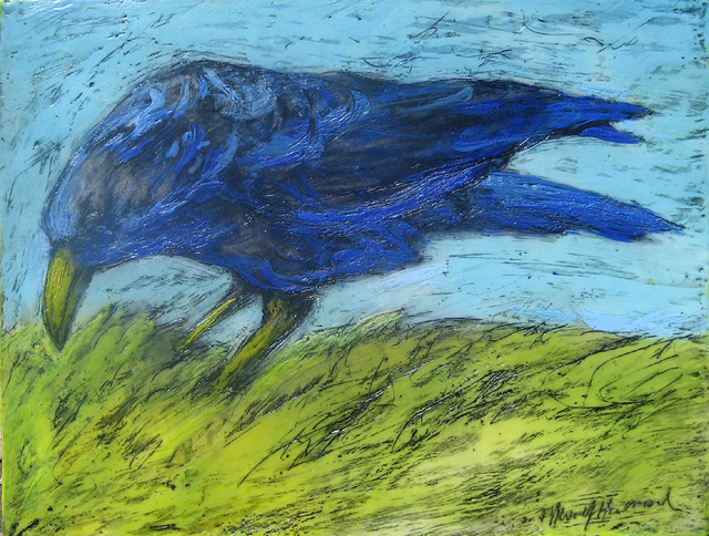 , 'Grazing Crow,' 2013, Zenith Gallery
