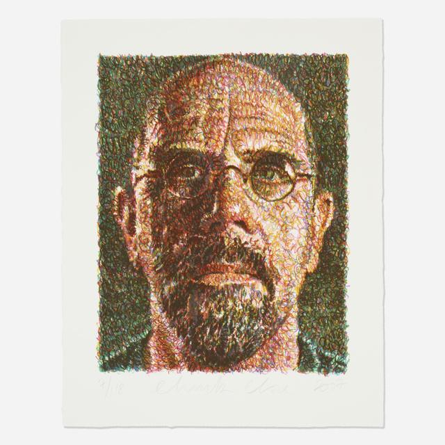Chuck Close, 'Self Portrait/Lincoln Center', 2007, Wright