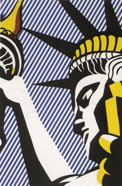Roy Lichtenstein, 'I Love Liberty', 1982, Print, Screen print on arches 88 paper, Andipa