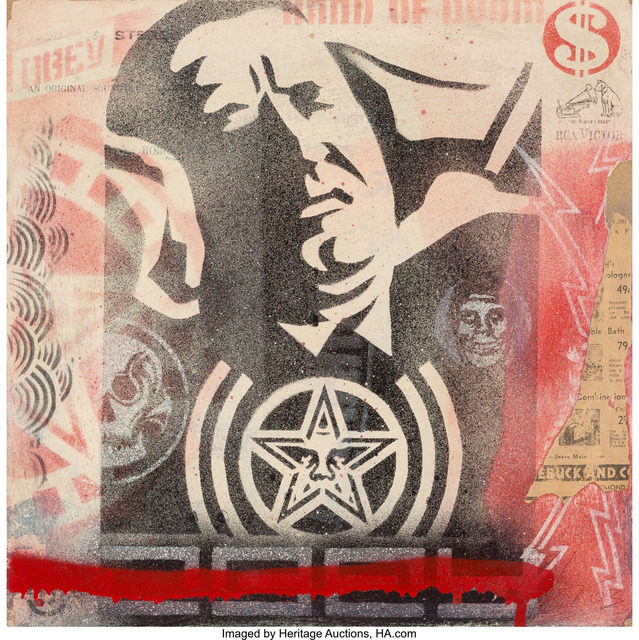 Shepard Fairey, 'Record Cover', 2003, Heritage Auctions