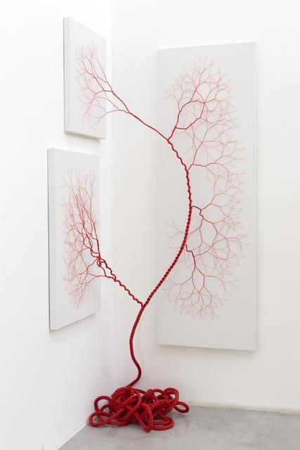 , 'Ciclotrama 166 (Impregnação),' 2019, Zipper Galeria
