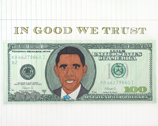 , 'Obama bill,' 2017, Art Unified Gallery