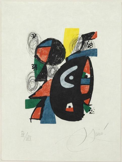 Joan Miró, 'La Mélodie Acide, IV', 1980, Caviar20