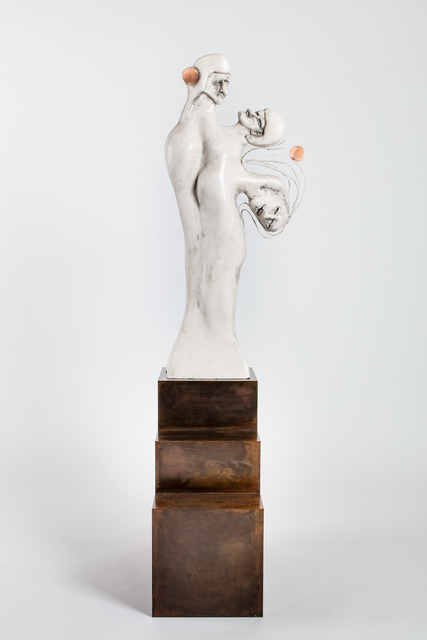 ", '""Racket I"",' 2017, Michael Werner Gallery"