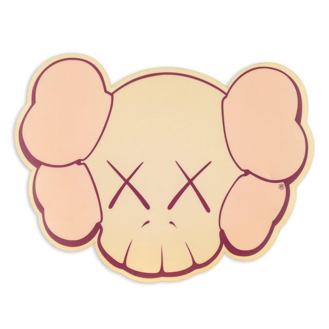 KAWS, 'Mouse Pad (pink)', date not known, Doyle