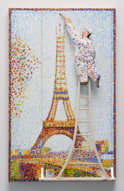 , 'The Eiffel Tower :Seurat,,' 2016, Zenith Gallery