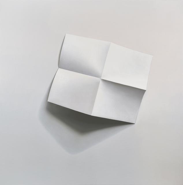 , 'Cartellino,' 2017, Parafin