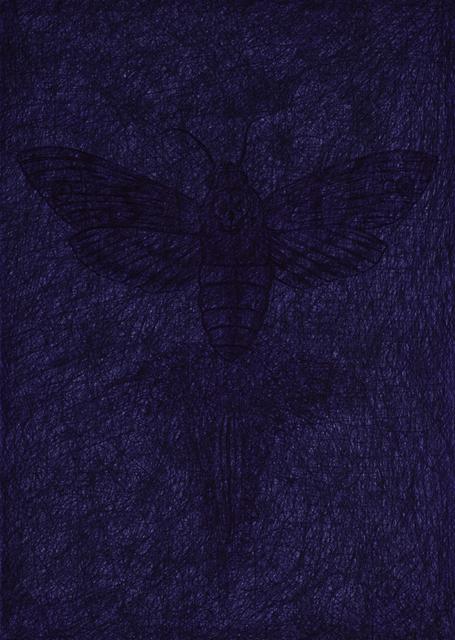 , 'De schaduw van de doodskopvlinder / The shadow of the death's head moth,' 1987, Magazzino