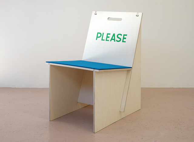 , 'PLEASE (with John Baldessari),' 2016, Häusler Contemporary