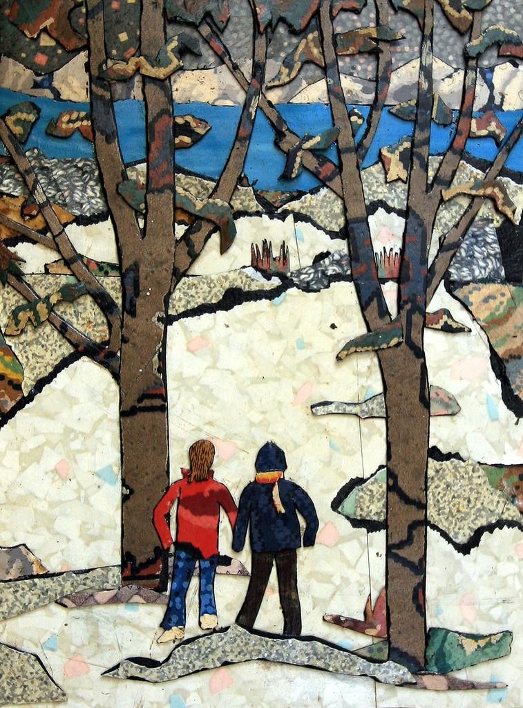 barbarella  a5  original print.artwork.by paul winters