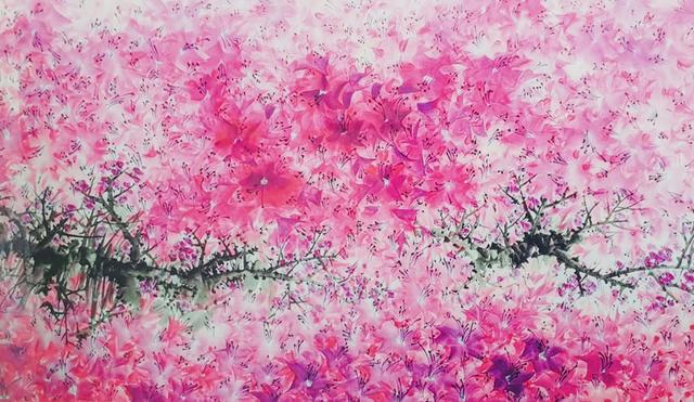 Bumhun Lee, 'Flower Dance', 2016, Kate Oh Gallery