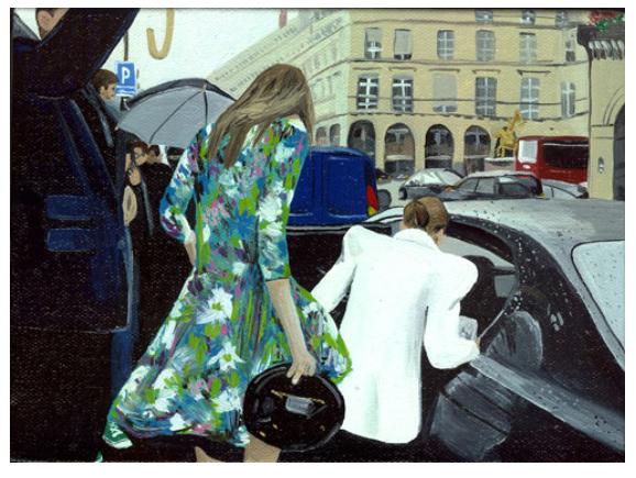 , 'Danielle Steel and Her Daughter,' 2009, Joshua Liner Gallery