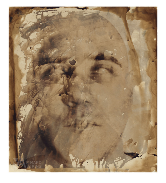 Marc Atkins, 'Man M Face 47760', 2004, The Grey Gallery